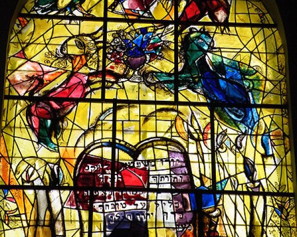 450px-Hadassah Chagall Windows- Tribe of Levi